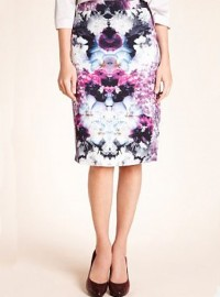 Autograph at Marks and Spencer Floral Print Pencil Skirt