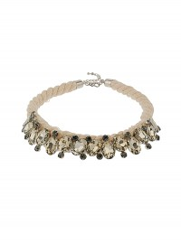 Freedom at Topshop Premium Glitz Collar Cord
