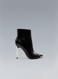 Zara Ankle Boot With Metal Toe