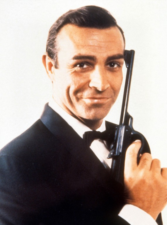 Sean Connery James Bond photo