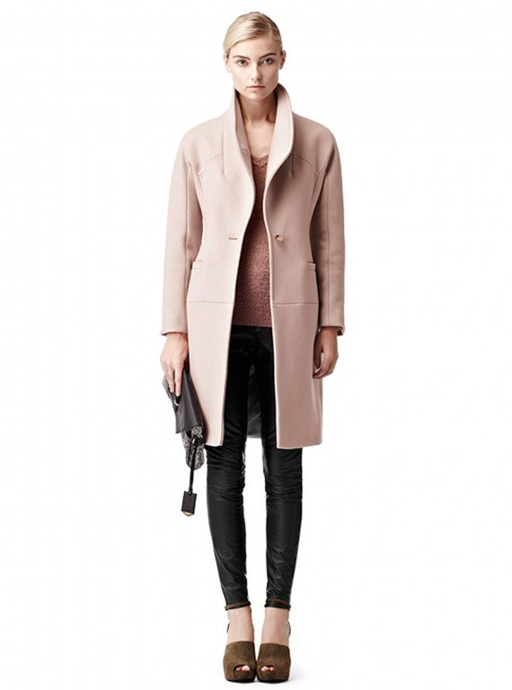 Reiss Myla funnel neck coat