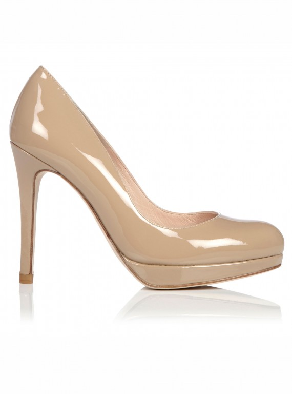 Photo of the LK Bennett Sledge Patent Leather Court Shoe