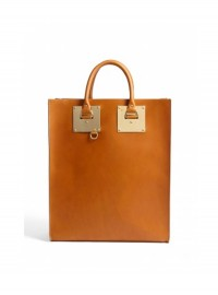 Sophie Hulme Large Leather Tote Bag With Hardware