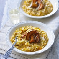 Roast Butternut Squash Risotto