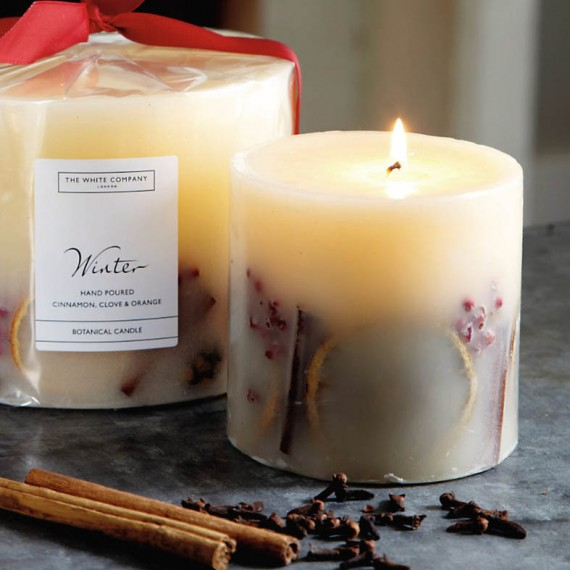 The White Company Winter Botanical Candle