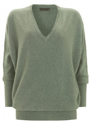 Mint Velvet V-Neck Batwing Knit