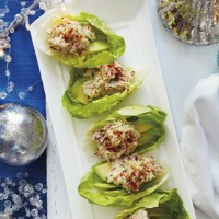 Avocado and Crab Lettuce Cups
