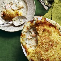 New creamy fish pie