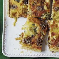 Blue cheese and caramelised onion tart