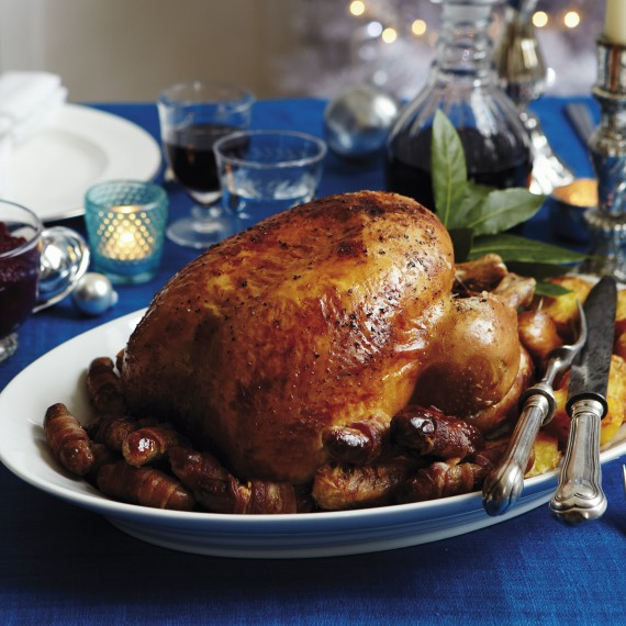 Roast Turke-Christmas-Christmas Food-Woman and home