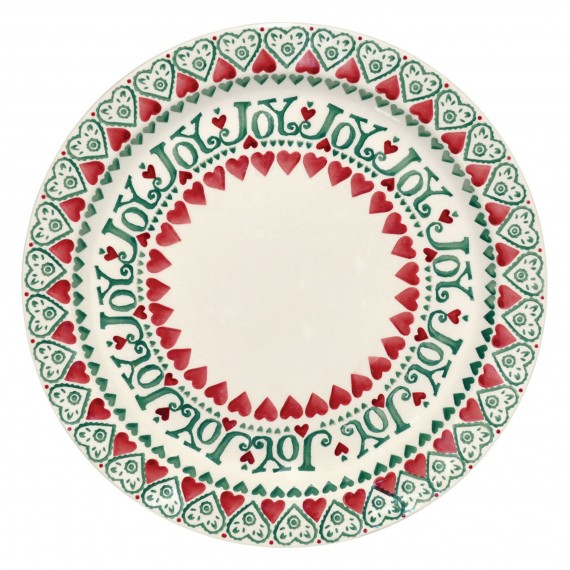 photo of Emma Bridgewater Joy cake plate Christmas