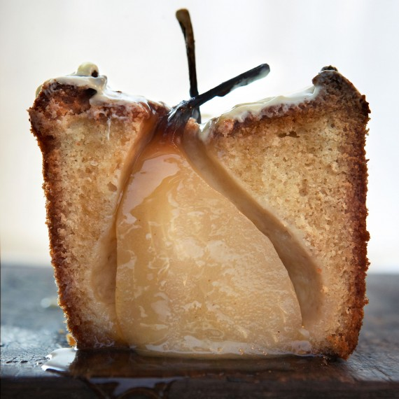 Cardamom Cake With Pears And White Chocolate Woman And Home