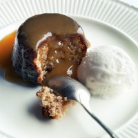 Salty Sticky Toffee Puddings