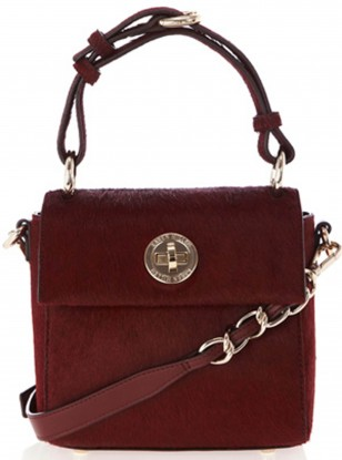 Karen Millen Mini Pony Satchel