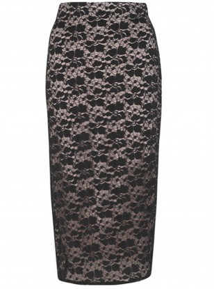 Jigsaw Lace Jersey Skirt