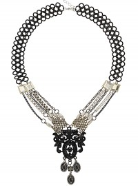 Topshop Deco Chain Necklace