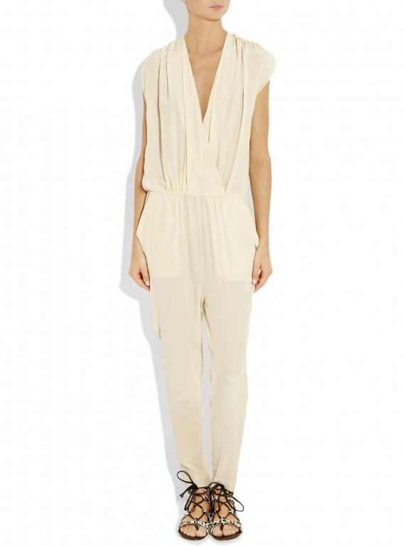 By Malene Birger Ihsana Washed Silk Jumpsuit ?201 Wedding