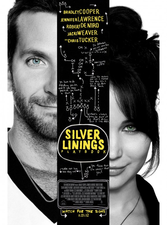 Silver Linings Playbook poster November 2012 films