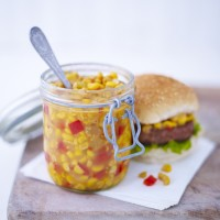 Sweetcorn and Red Pepper Relish