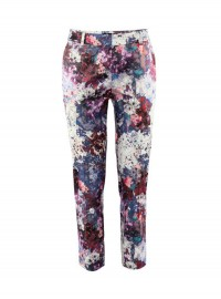 H&M Floral Ankle Length Trousers