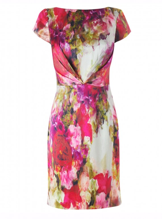 LK Bennett Digital Print Dress photo