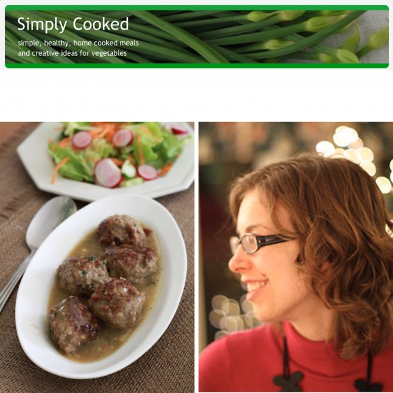 Simply Cooked woman&home 100 Best Food Blogs photo