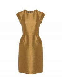 Hobbs Precious Gold Dress