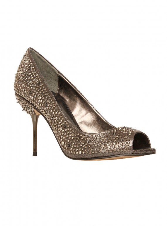 Photo of the Carvela Genny studded fabric court shoes