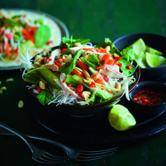 Vietnamese-style salad