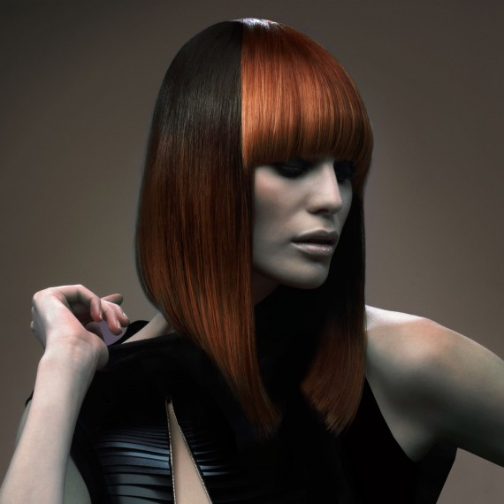 hairstyles 2015 - Long bob with fringe - Woman And Home
