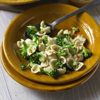 Pasta with Broccoli and Anchovy Sauce