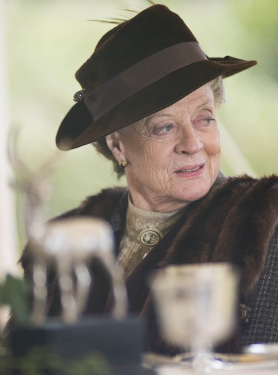 The Dowager Duchess Downton Abbey Christmas Special 2012 photo