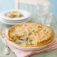 How To Make Chicken &amp; Wild Mushroom Pie