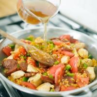 How To Make Chicken and Chorizo Paella