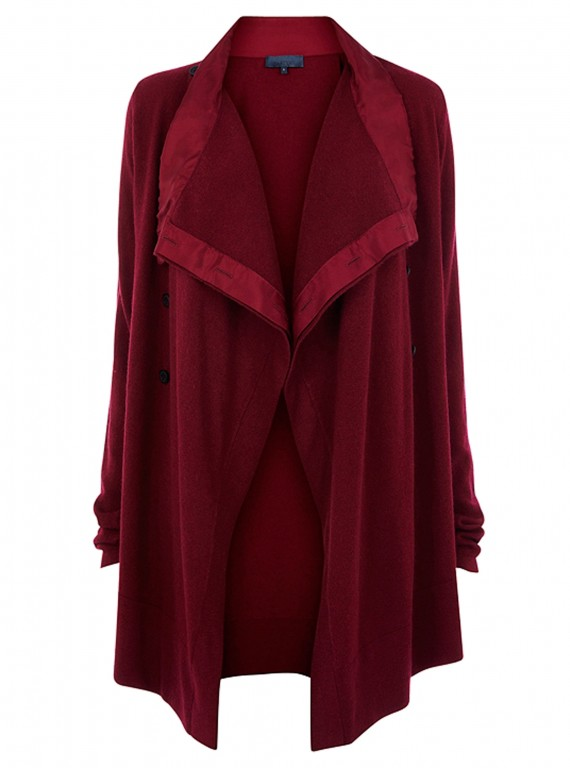 Photo of Bastyan Milly Military drape cardigan
