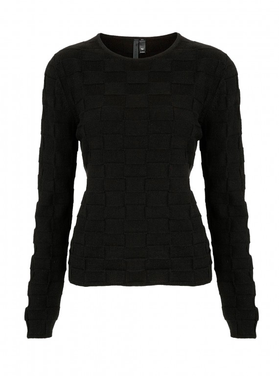 Photo of Topshop Boutique cashmere Self Check jumper