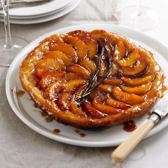 Peach and Vanilla Tarte Tatin Recipe Recipe