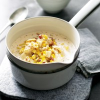 Chunky smoked haddock chowder