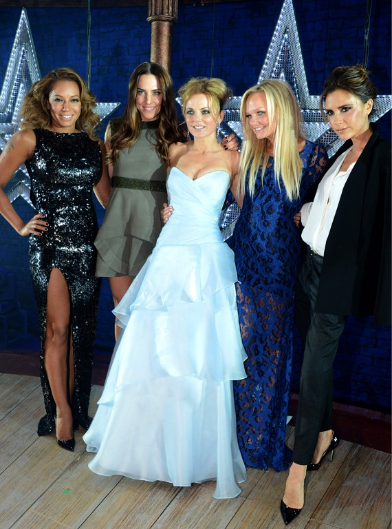 Spice Girls Viva Forever press night photo