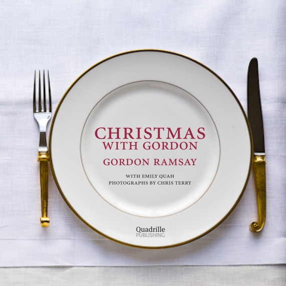 Gordon Ramsay Christmas book cover