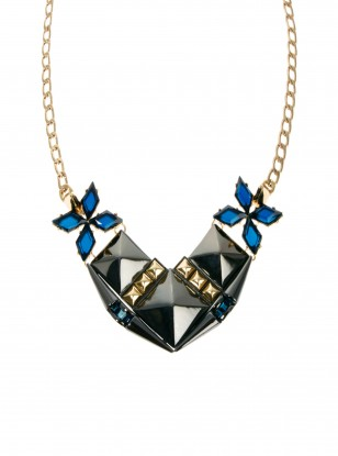 Asos Midnight Stud Necklace
