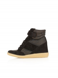 Topshop Aerobic2 Metallic Dot Hi-Tops