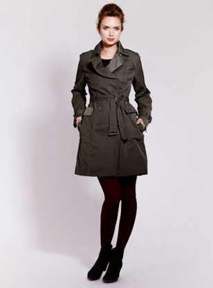 Mint Velvet Storm Zip Trench Coat