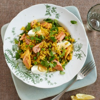 Speedy Salmon Kedgeree Recipe