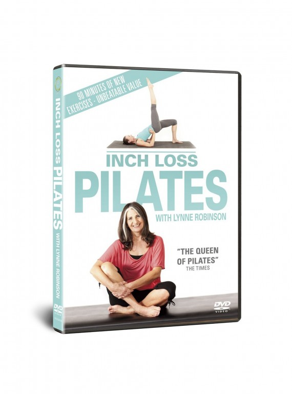 Lynne Robinson's Inch Loss Pilates Fitness DVD cover