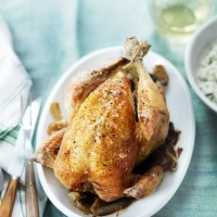 Lemon Chicken with Celeriac Mash