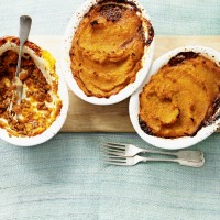 Spiced cottage pie with winter root mash