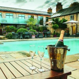 Feversham Arms Hotel and Verbana Spa-romantic travel-UK breaks-woman and home