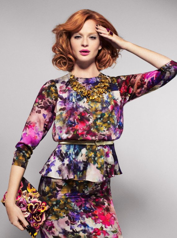 Hobbs floral dress photo