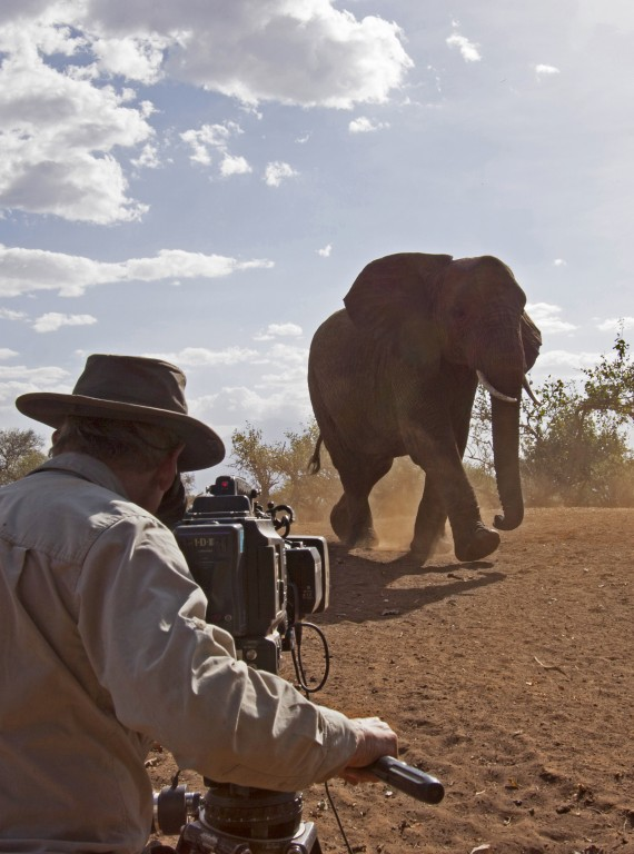 David Attenborough Africa BBC photo